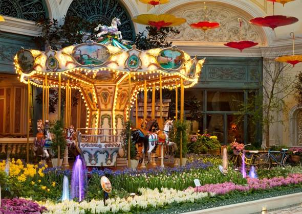 Bellagio Conservatory - Spring - Carousel - 2012