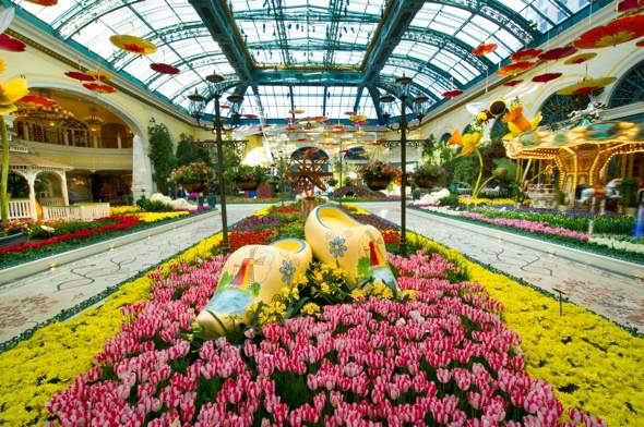 Bellagio Conservatory - Spring - Entrance - 2012