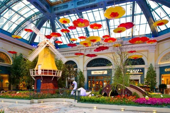Bellagio Conservatory – Spring – Windmill – 2012