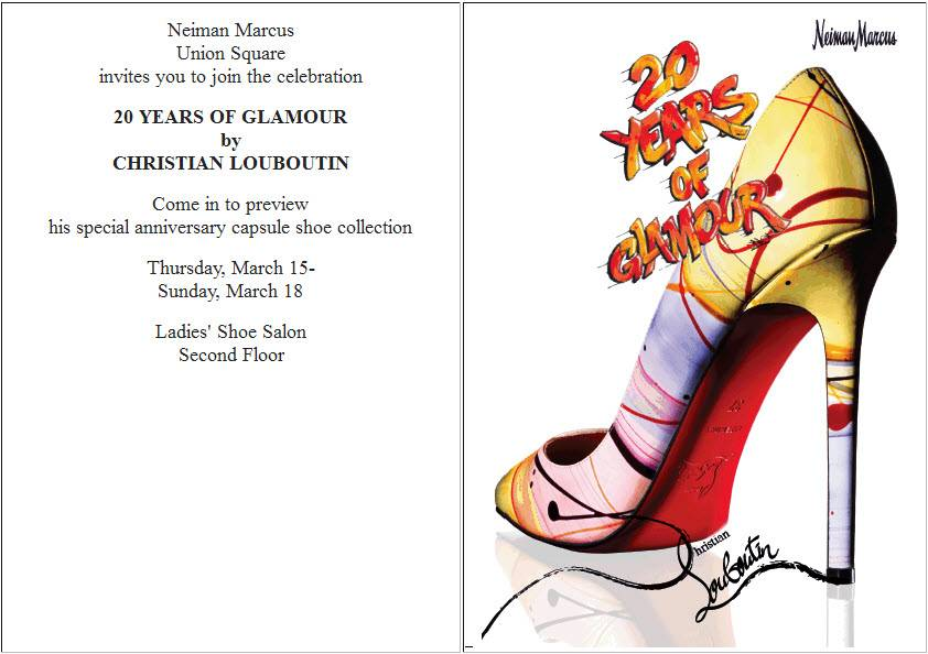 new style 3128b 174d3 Celebrate Christian Louboutin's 20th Year Anniversary at ...