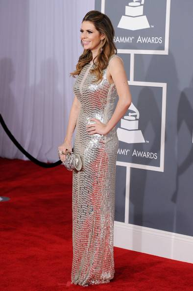 Carly Steel arrives at the 54th Annual Grammy Awards in Pamela  > Rolland and Avakian