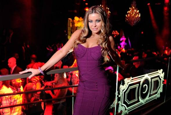Haute Event Carmen Electra Celebrates St Patrick S Day