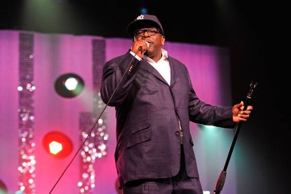 Cedric the Entertainer performing at MJCI Celebration, Las Vegas, 3.30.12