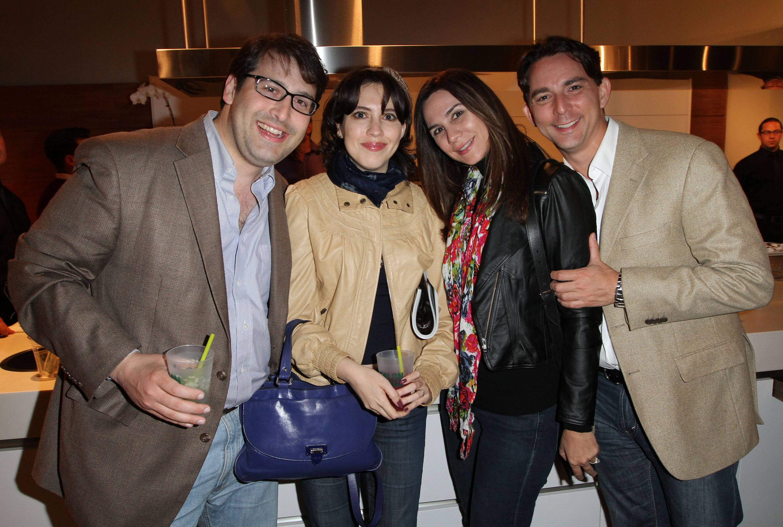 Chris Drury, Vanessa Cepero, Eleni Montoya, Patrick Montoya