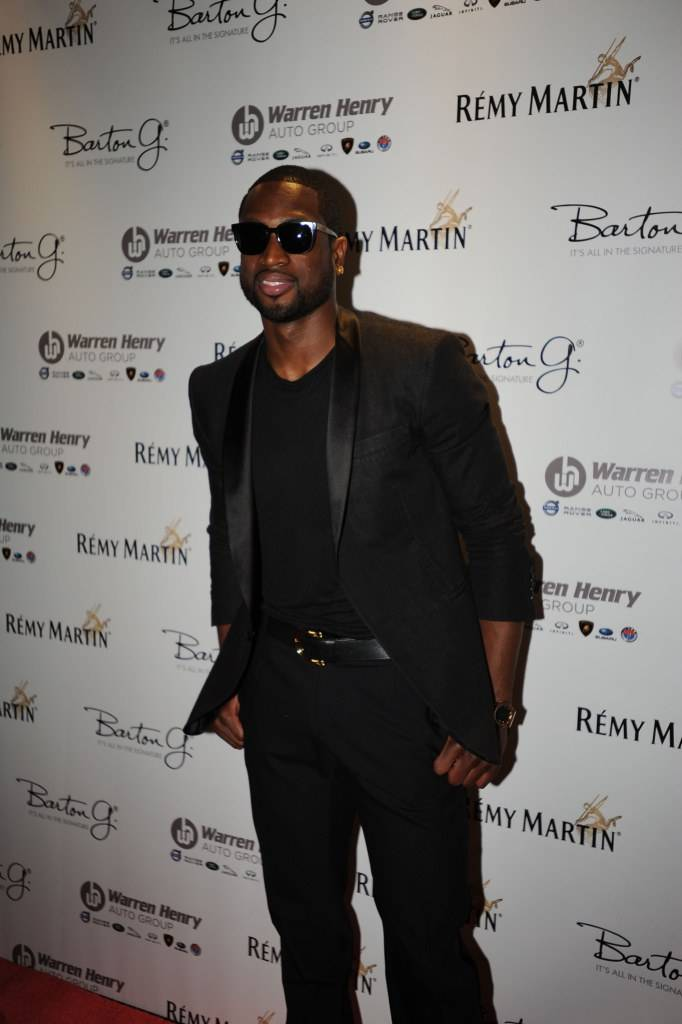 Dwyane Wade attends Remy Martin's 28th Birthday Celebration for Chris Bosh