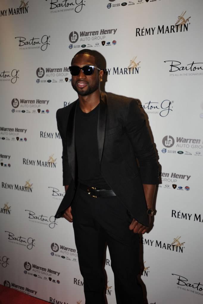 Dwyane Wade attends Remy Martin's 28th Birthday Celebration for Chris Bosh