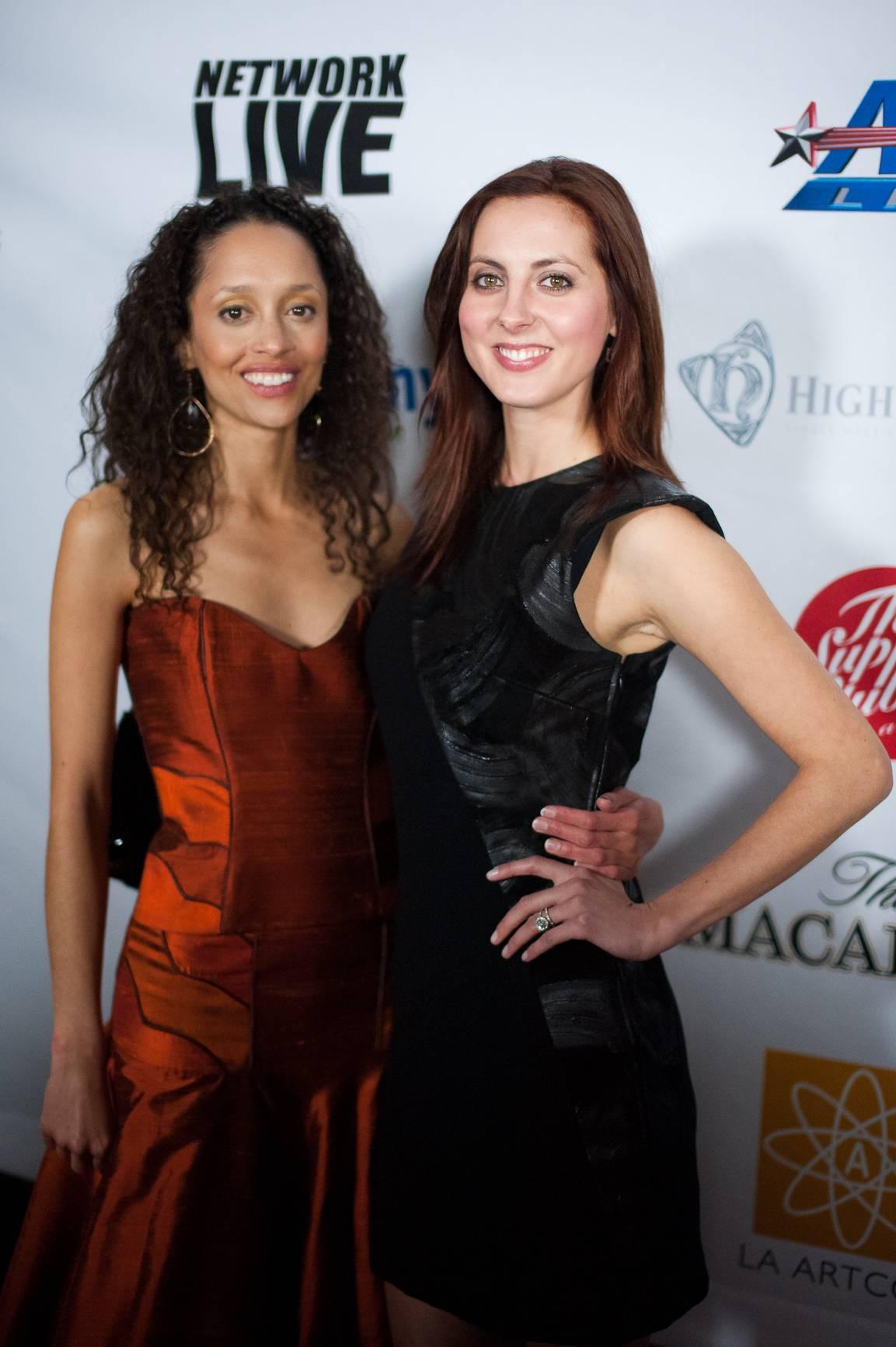 Event Producer Gloria Huwiler (Left), Eva Amurri Martino (Right)