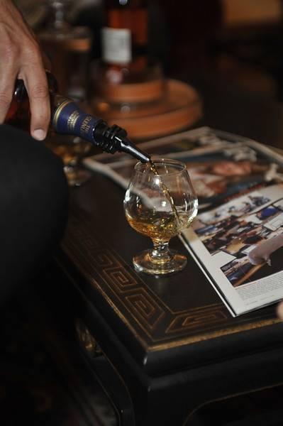 Glenlivet Scotch Pouring