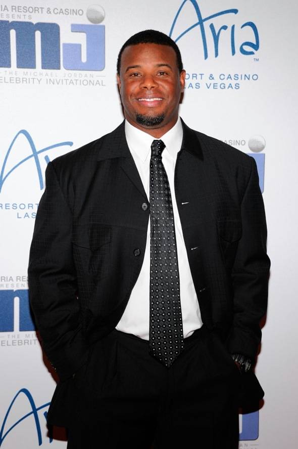 Ken Griffey Jr. on carpet at MJCI Celebration, Las Vegas, 3.30.12