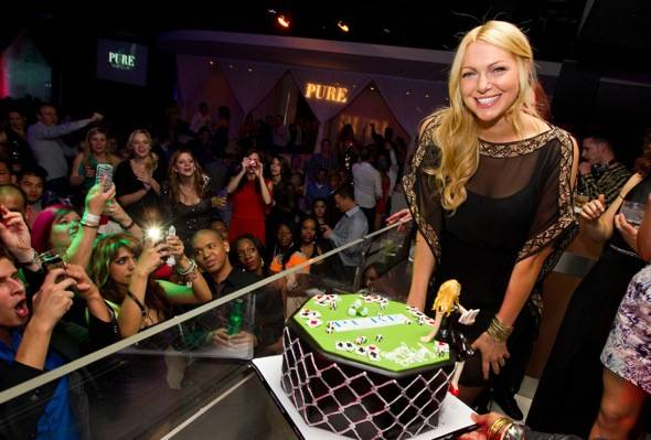 Laura Prepon_Birthday Cake_PURE Nightclub