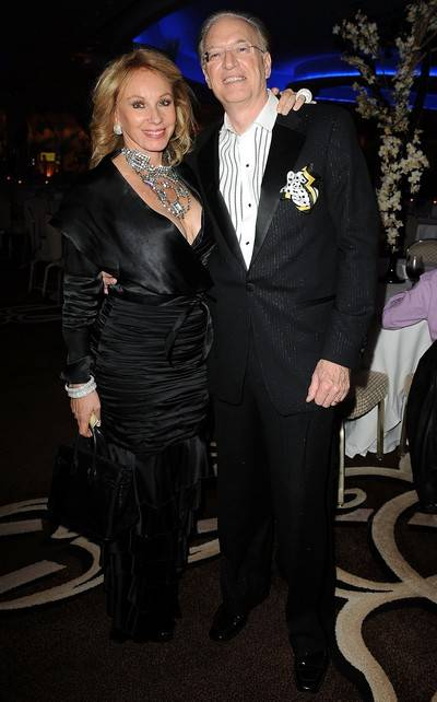 Lea Black (L) and husband Roy Black attends the 15th Annual Blacks' Charity Gala at Fontainebleau Miami Beach on February 27, 2010 in Miami Beach, Florida.