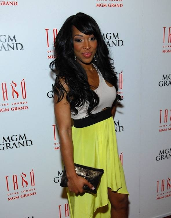 Malika Haqq Red Carpet at Tabú Ultra Lounge - Saturday, March 24