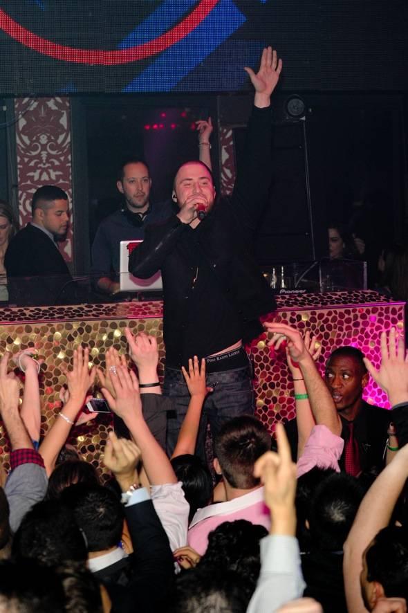 Recording Artist, Mike Posner helps DJ Reflex celebrate his birt