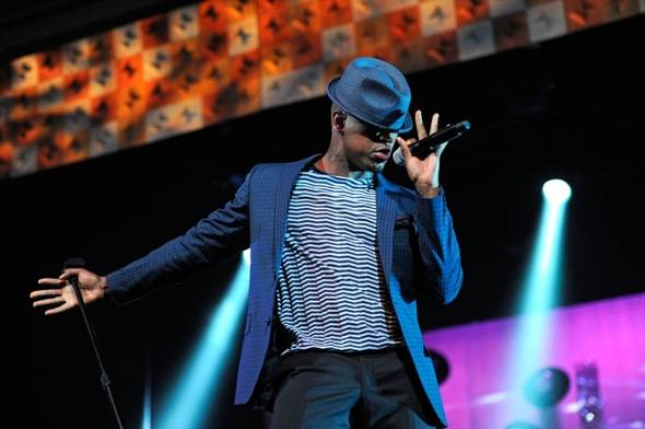 NE-YO performing at MJCI Celebration, Las Vegas, 3.30.12