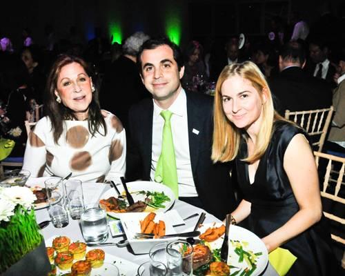 Susan Zises-Green, Justin Green, Jenny Green