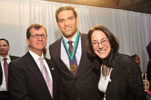Jerry Goldman, Mark Sanchez, Nancy Neff