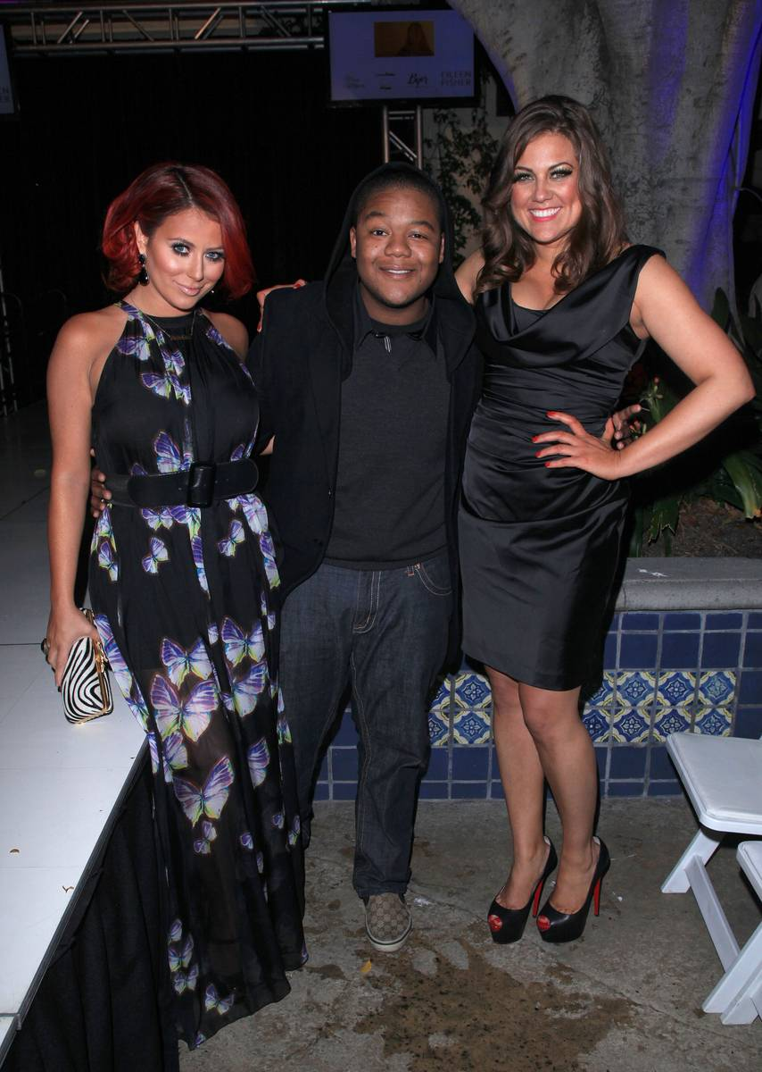 Racquel Castaneda, Kyle Massey and Aubrey O'Day