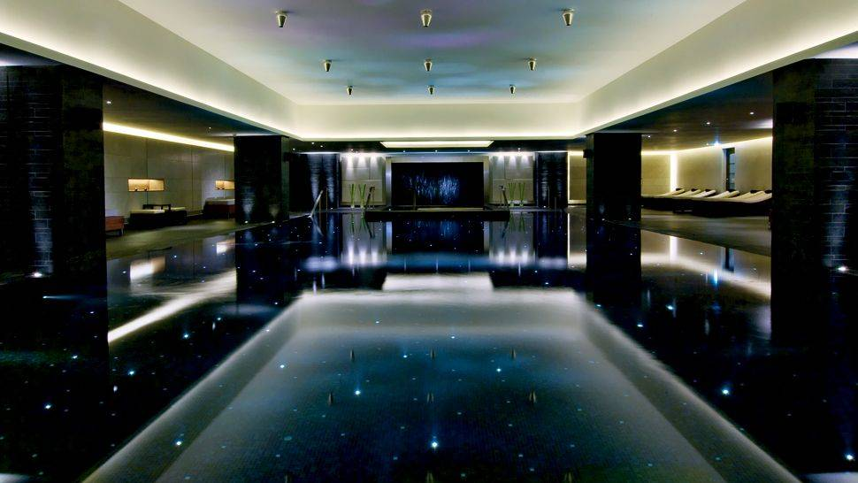 Top five hotel pools in moscow haute living - How much to build an indoor swimming pool ...