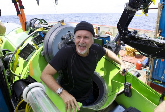 Rolex Joins James Cameron In Making History