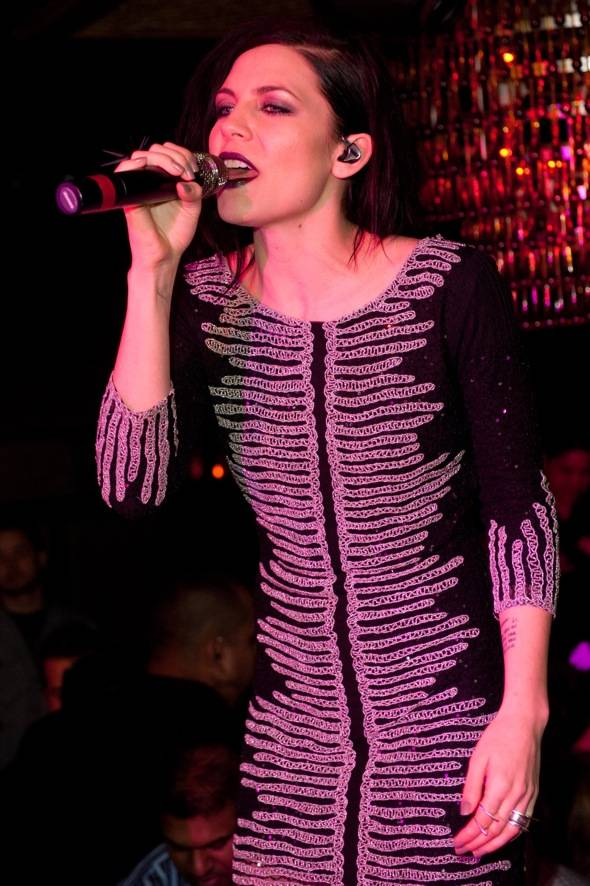 Skylar Grey celebrates her birthday and performs at Lavo.
