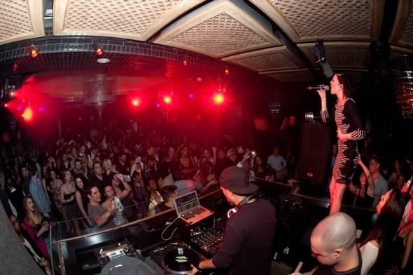 Singer, Songwriter, Skylar Grey performs at LAVO