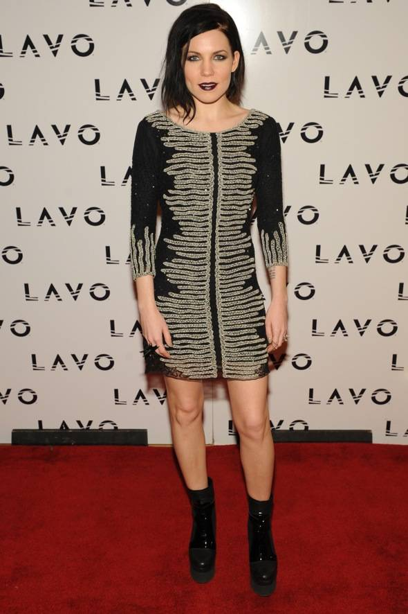 Singer, Songwriter, Skylar Grey performs at LAVO