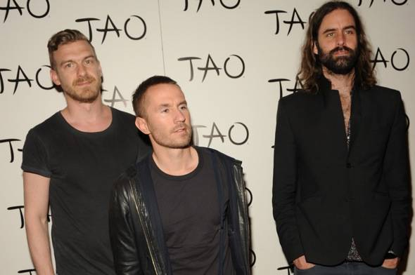 Swedish indie pop band, Miike Snow performs at TAO