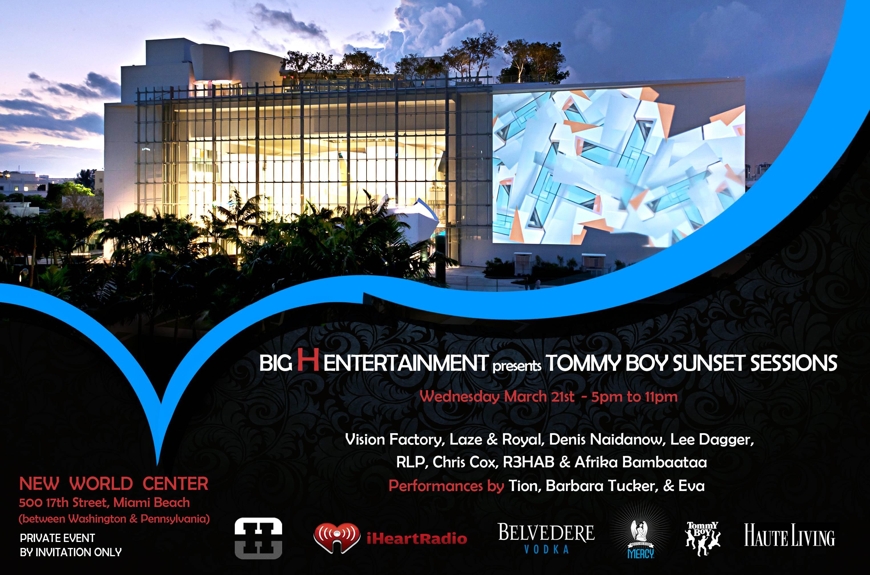 TOMMY BOY INVITE