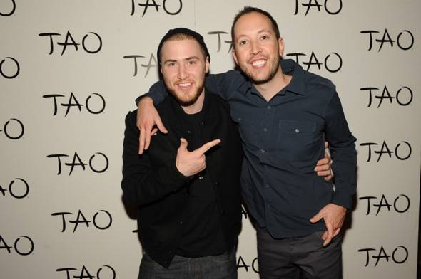 Recording Artist, Mike Posner helps DJ Reflex celebrate his birt