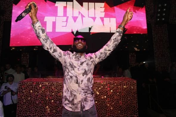 Tinie Tempah at TAO Las Vegas
