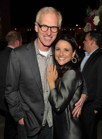 Brad Hall and Julia Louis-Dreyfus