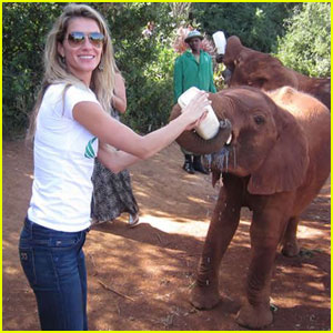 gisele-bundchen-baby-elephant