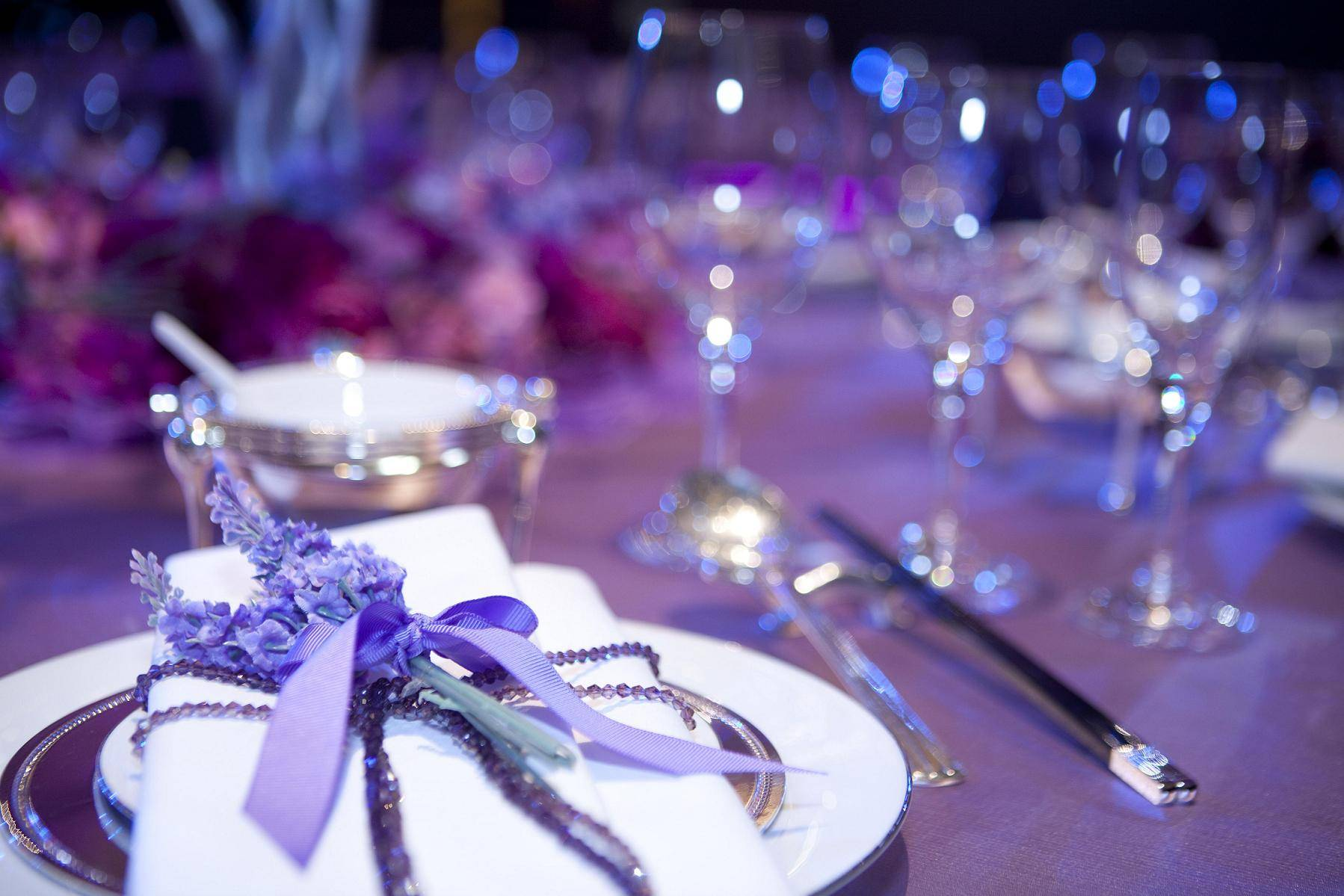 purple for accompanying-lavender's love theme detailed set up