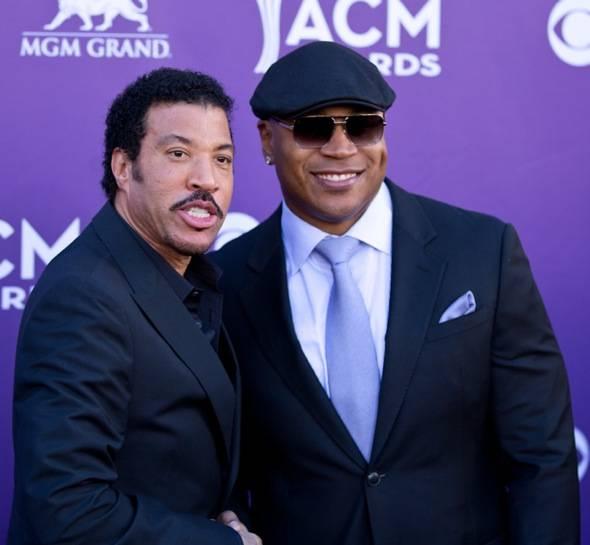 Lionel Richie and L.L. Cool J