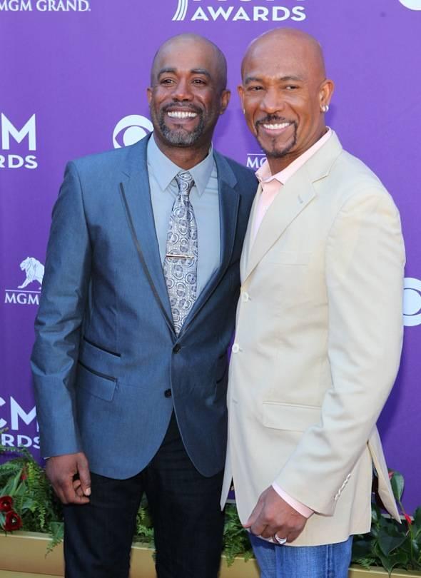 Darius Rucker and Montel Williams