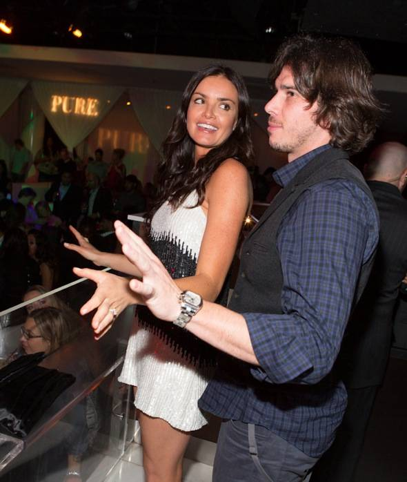 Courtney Robertson and Ben Flajnik