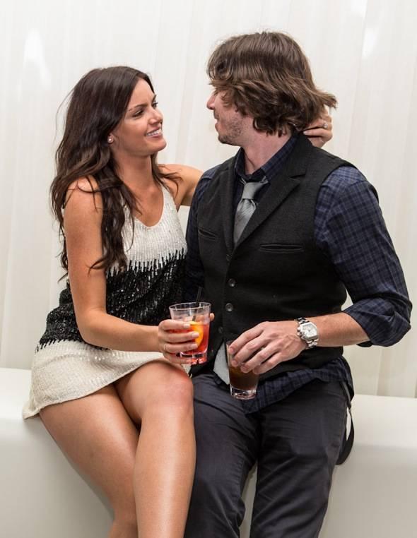 Courtney Robertson and Ben Flajnik