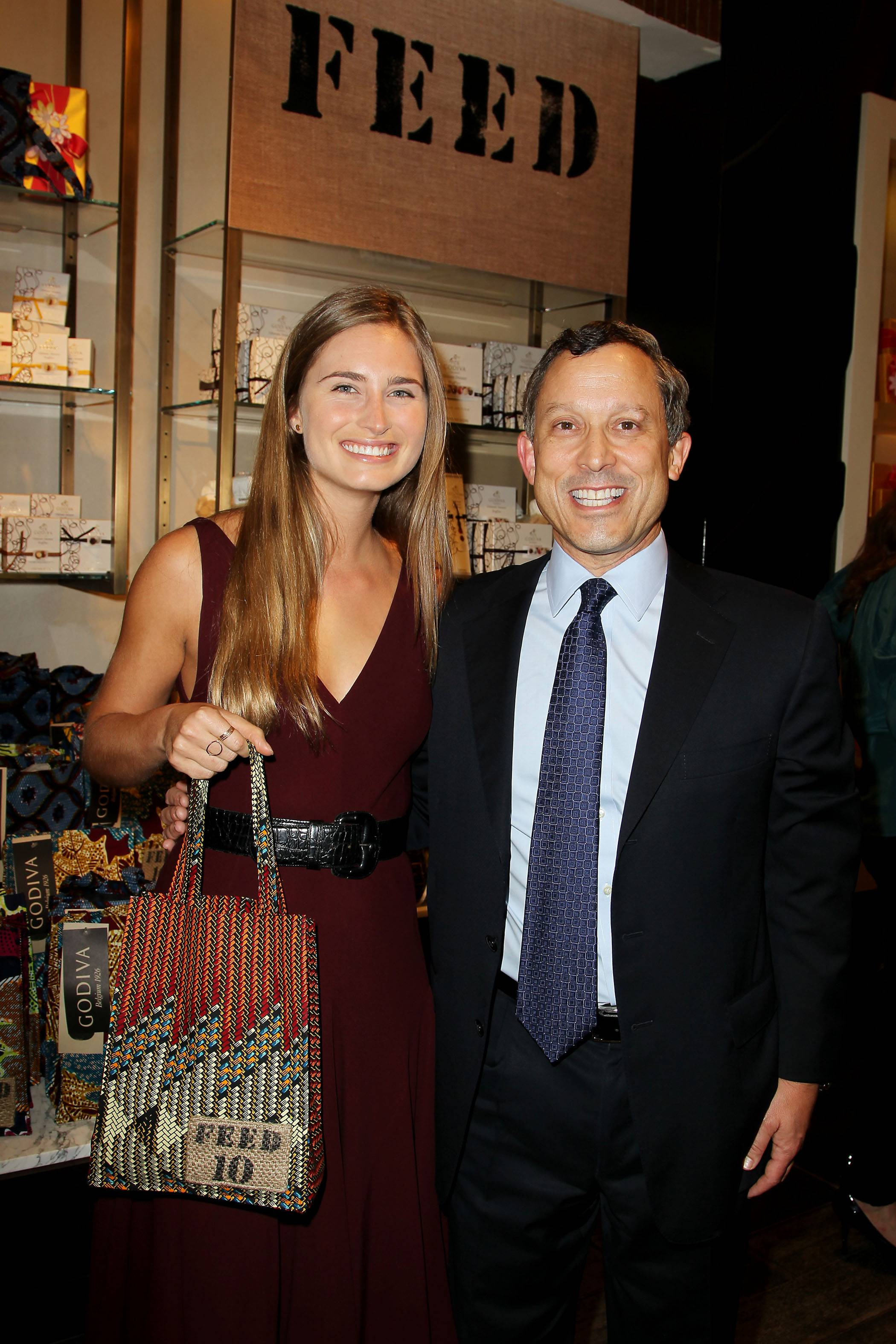 Lauren Bush Lauren and Jim Goldman (Godiva CEO)