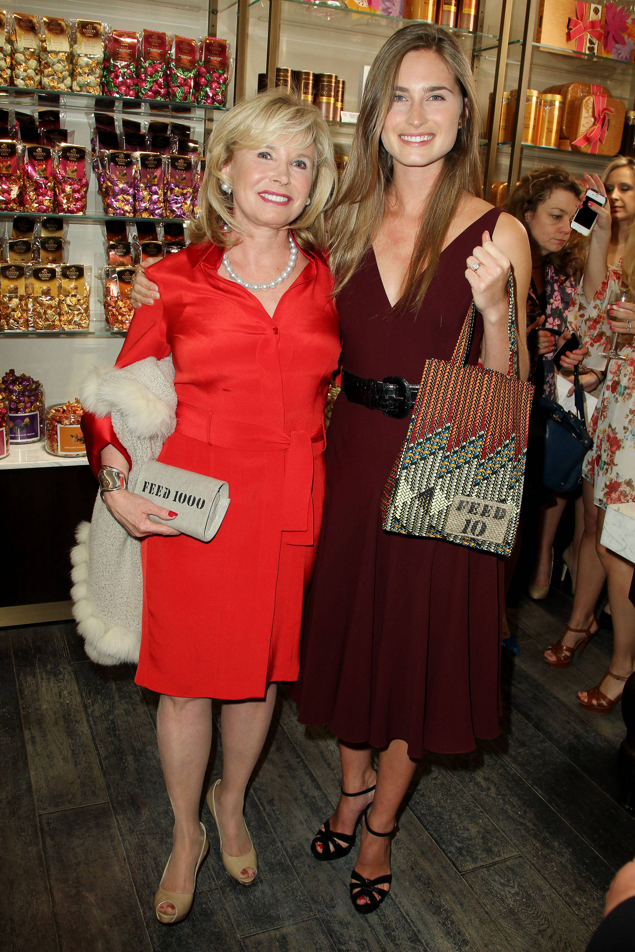Sharon Bush and daughter Lauren Bush Lauren