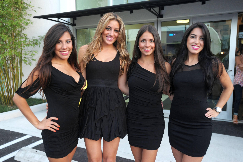 Arianna Rojas, Catalina Visney, Ariana Aubert, Vanessa Romero