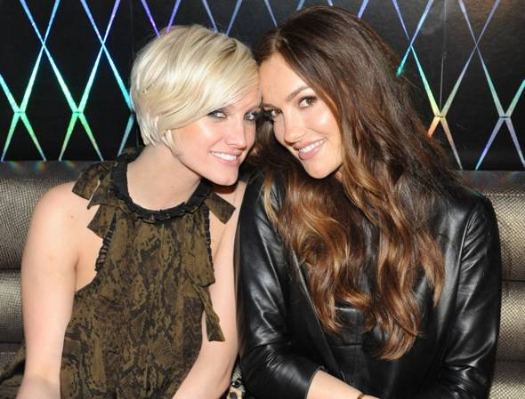 Ashlee Simpson and Minka Kelly at  Marquee The Star in Sydney, Australia