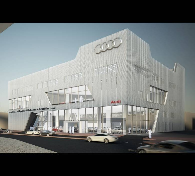 Audi Terminal Dubai 2