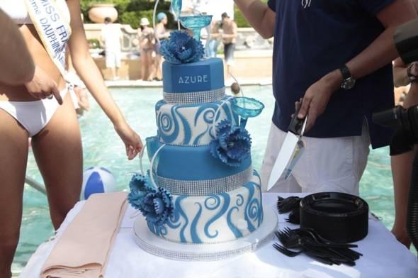 Azure cake