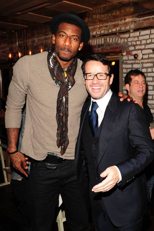 Amare Stoudemire, Francois-Henry Bennahmias (Pres. and CEO of Au