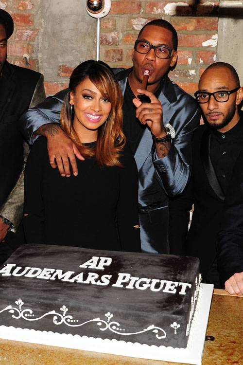 Lala Anthony, Carmelo Anthony, Swizz Beatz