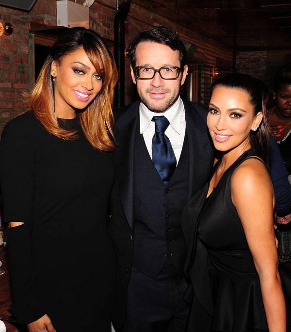 Lala Anthony, Francois-Henry Bennahmias, Kim Kardashian