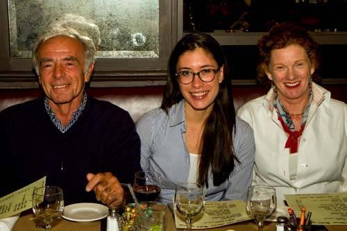 Patrice Casanova, Moana Casanova and Joyce Hanley