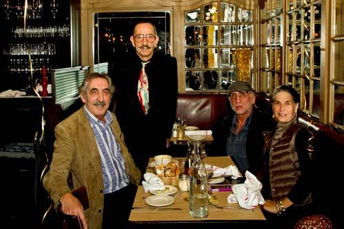 George Guenancia and Gerard Blanes and Guests
