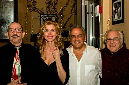 Gerard Blanes, Debbie Dickinson, Alex Masucci and Buddha