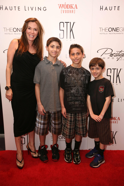 Celeste Fierro, & Jake, Christian, & Ryan Puccio